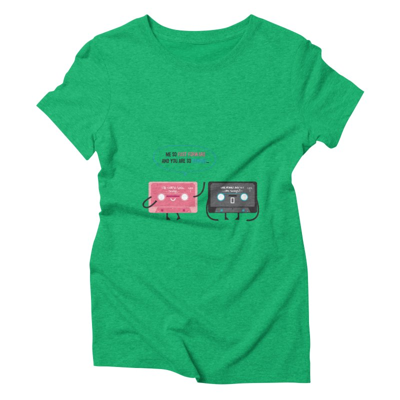 Fast Forward vs Rewind Women's Triblend T-shirt by strawberrystyle's Artist Shop