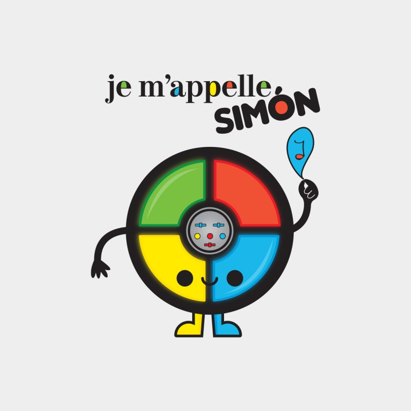Je m'appelle simón Men's V-Neck by strawberrystyle's Artist Shop