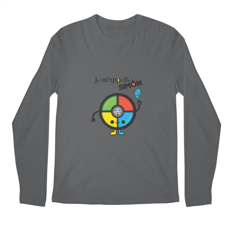 Je m'appelle simón Men's Longsleeve T-Shirt by strawberrystyle's Artist Shop