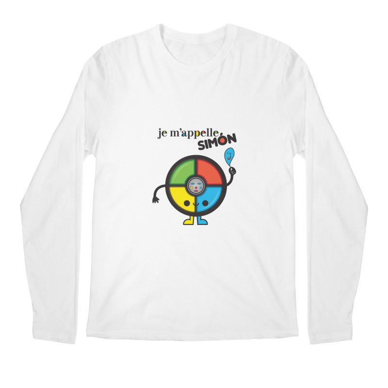 Je m'appelle simón Men's Longsleeve T-Shirt by strawberrystyle's Artist Shop