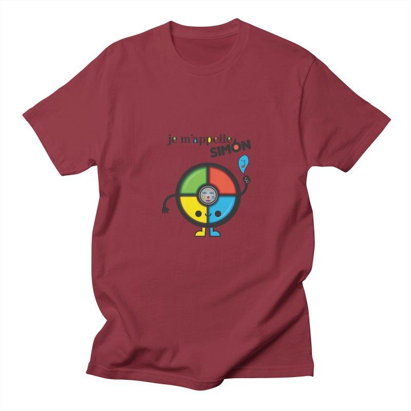 Je m'appelle simón Women's Unisex T-Shirt by strawberrystyle's Artist Shop