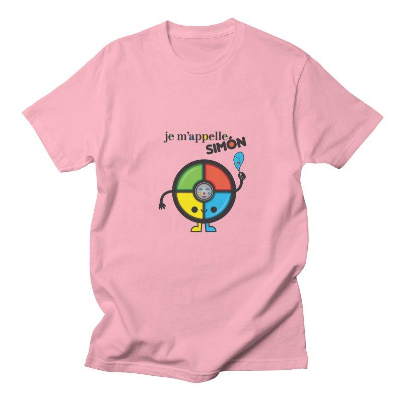 Je m'appelle simón Men's T-shirt by strawberrystyle's Artist Shop