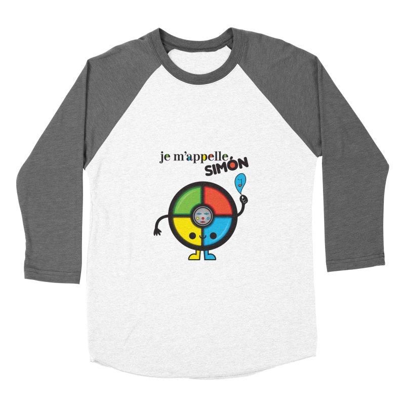 Je m'appelle simón Women's Baseball Triblend T-Shirt by strawberrystyle's Artist Shop