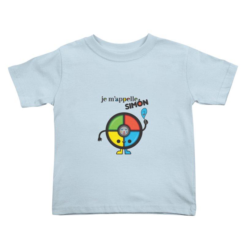 Je m'appelle simón Kids Toddler T-Shirt by strawberrystyle's Artist Shop