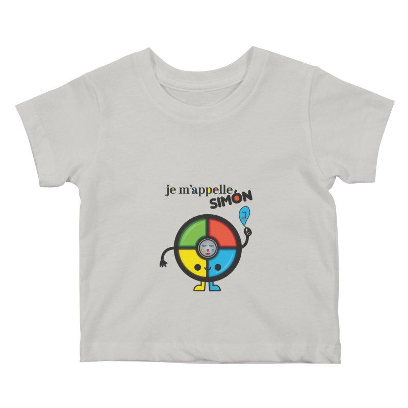 Je m'appelle simón Kids Baby T-Shirt by strawberrystyle's Artist Shop