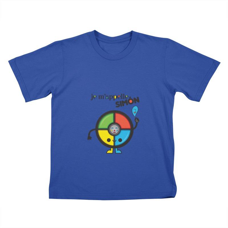 Je m'appelle simón Kids T-Shirt by strawberrystyle's Artist Shop