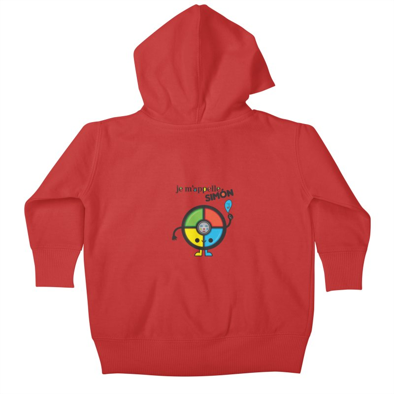 Je m'appelle simón Kids Baby Zip-Up Hoody by strawberrystyle's Artist Shop