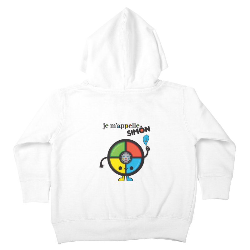 Je m'appelle simón Kids Toddler Zip-Up Hoody by strawberrystyle's Artist Shop