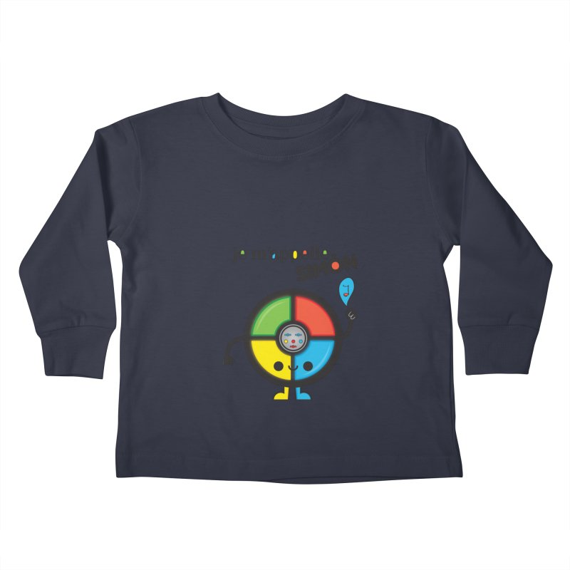 Je m'appelle simón Kids Toddler Longsleeve T-Shirt by strawberrystyle's Artist Shop