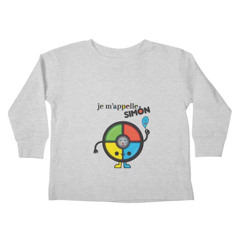 Je m'appelle simón Kids Toddler Longsleeve T-Shirt by strawberrystyle's Artist Shop