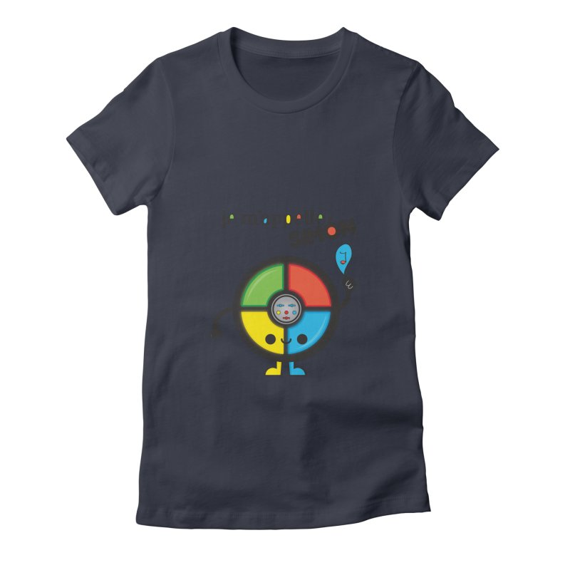 Je m'appelle simón Women's Fitted T-Shirt by strawberrystyle's Artist Shop