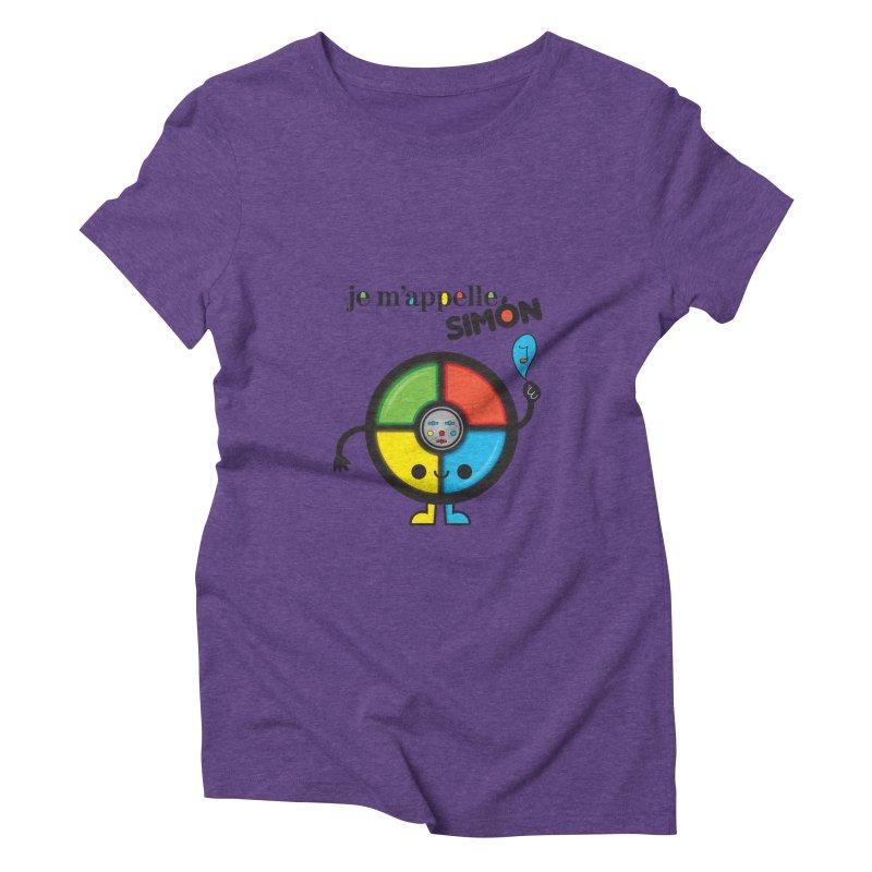 Je m'appelle simón Women's Triblend T-shirt by strawberrystyle's Artist Shop