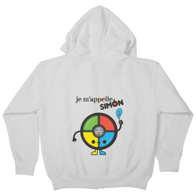 Je m'appelle simón Kids Zip-Up Hoody by strawberrystyle's Artist Shop