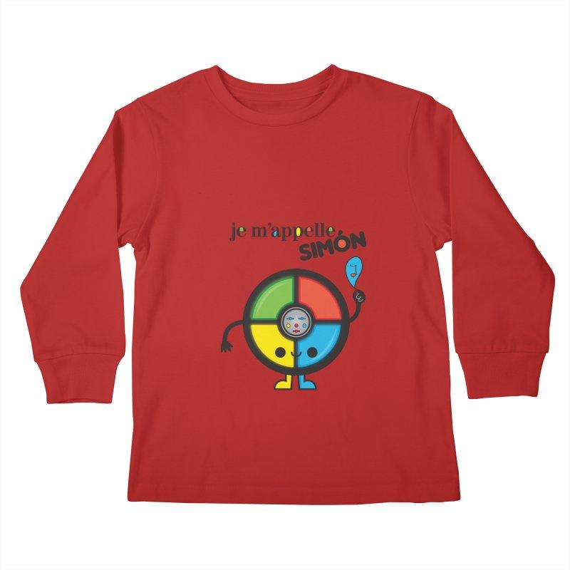 Je m'appelle simón Kids Longsleeve T-Shirt by strawberrystyle's Artist Shop