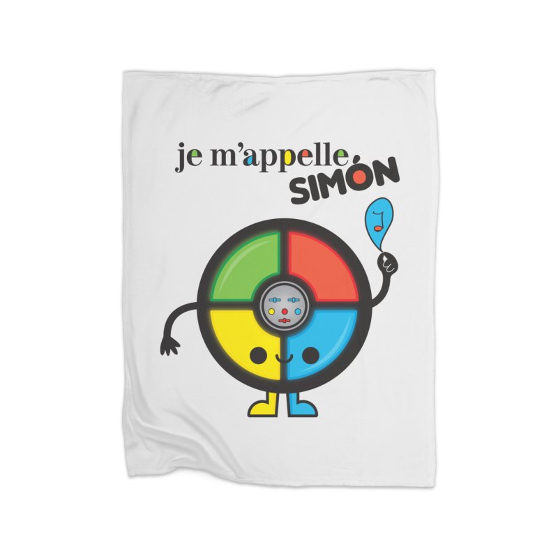 Je m'appelle simón Home Blanket by strawberrystyle's Artist Shop