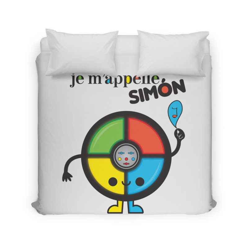 Je m'appelle simón Home Duvet by strawberrystyle's Artist Shop