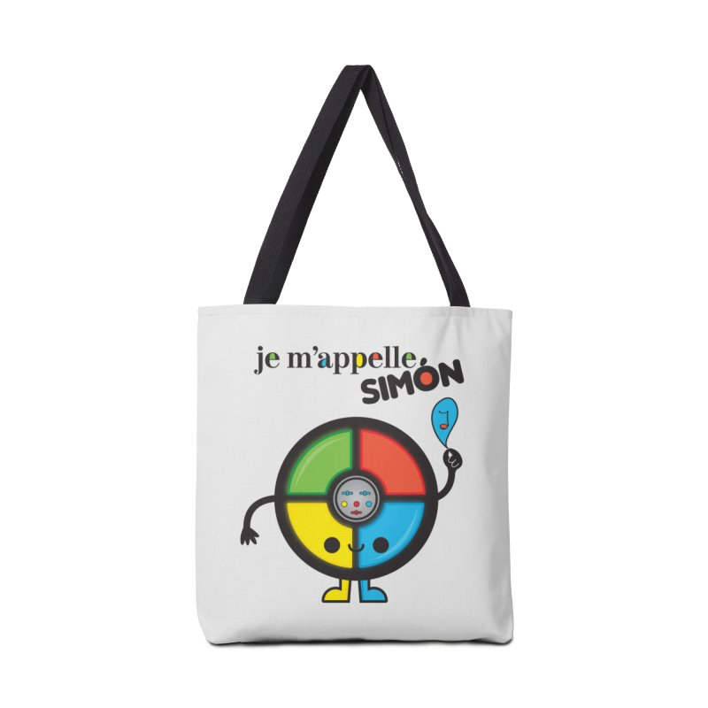 Je m'appelle simón Accessories Bag by strawberrystyle's Artist Shop