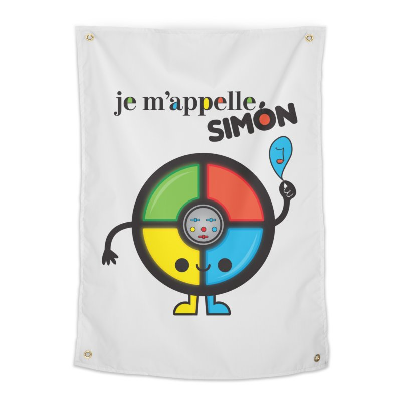 Je m'appelle simón Home Tapestry by strawberrystyle's Artist Shop