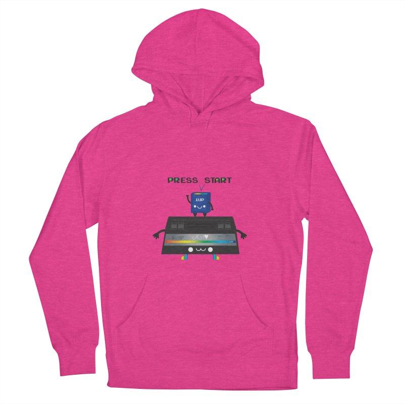 Press Start Men's Pullover Hoody by strawberrystyle's Artist Shop