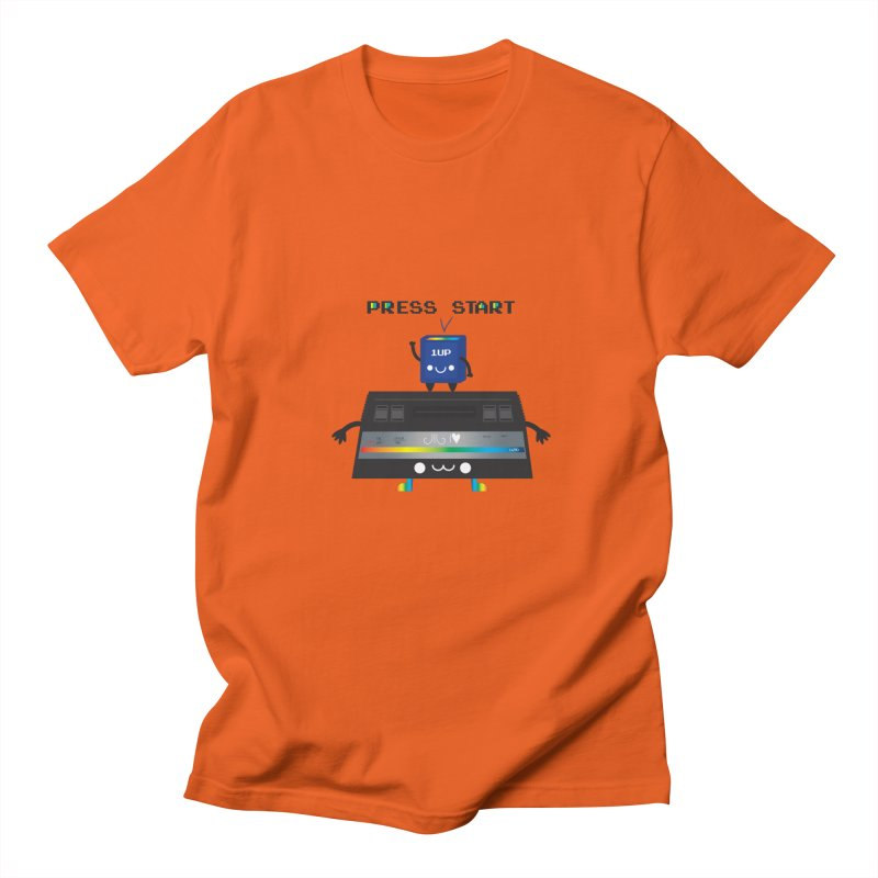 Press Start Women's Unisex T-Shirt by strawberrystyle's Artist Shop