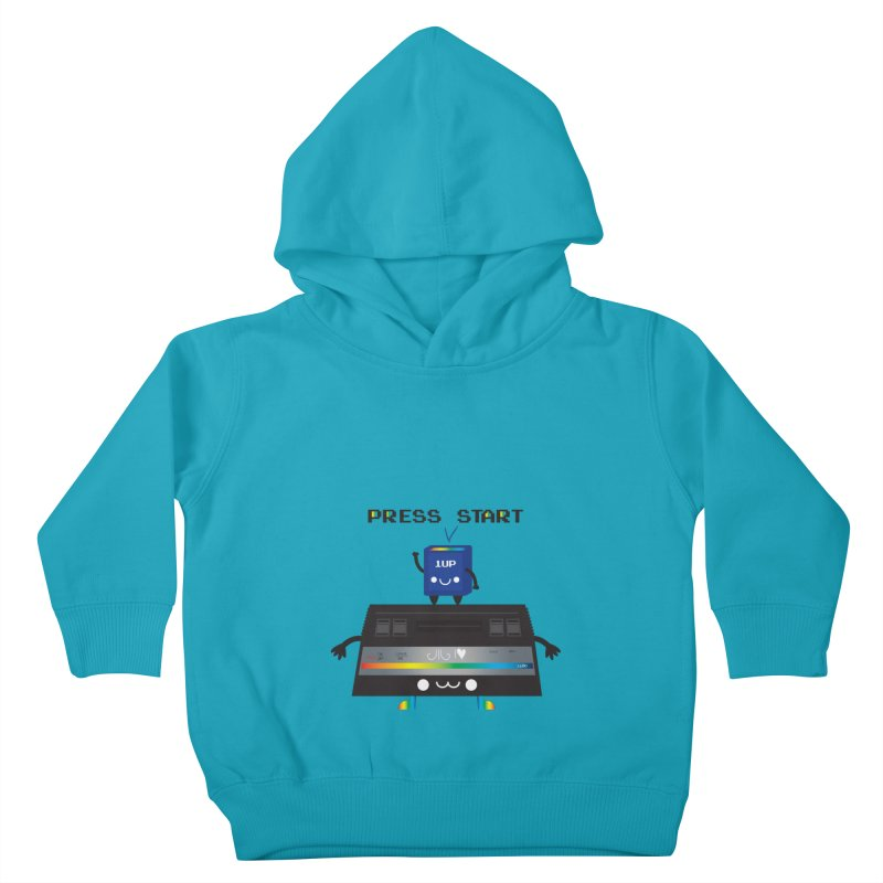 Press Start Kids Toddler Pullover Hoody by strawberrystyle's Artist Shop