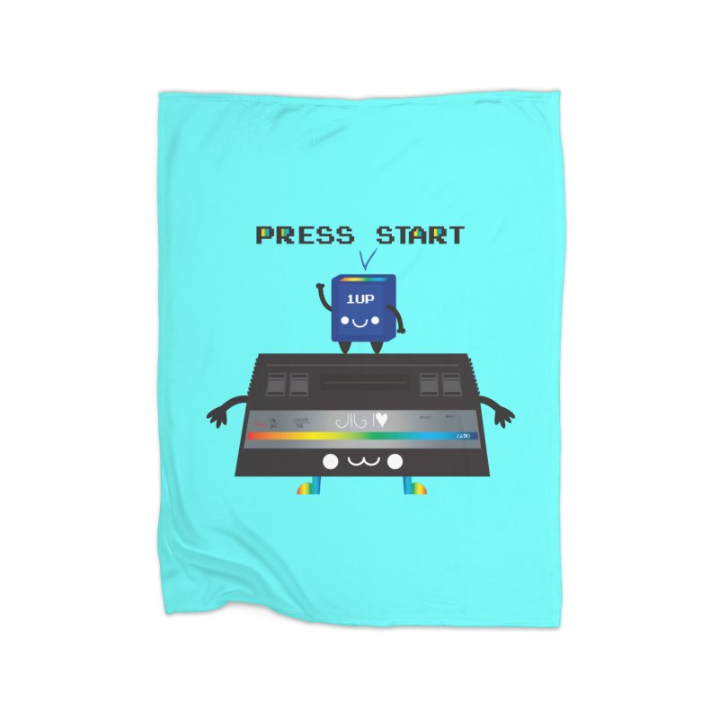 Press Start Home Blanket by strawberrystyle's Artist Shop