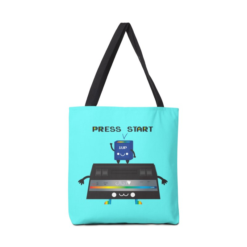Press Start Accessories Bag by strawberrystyle's Artist Shop