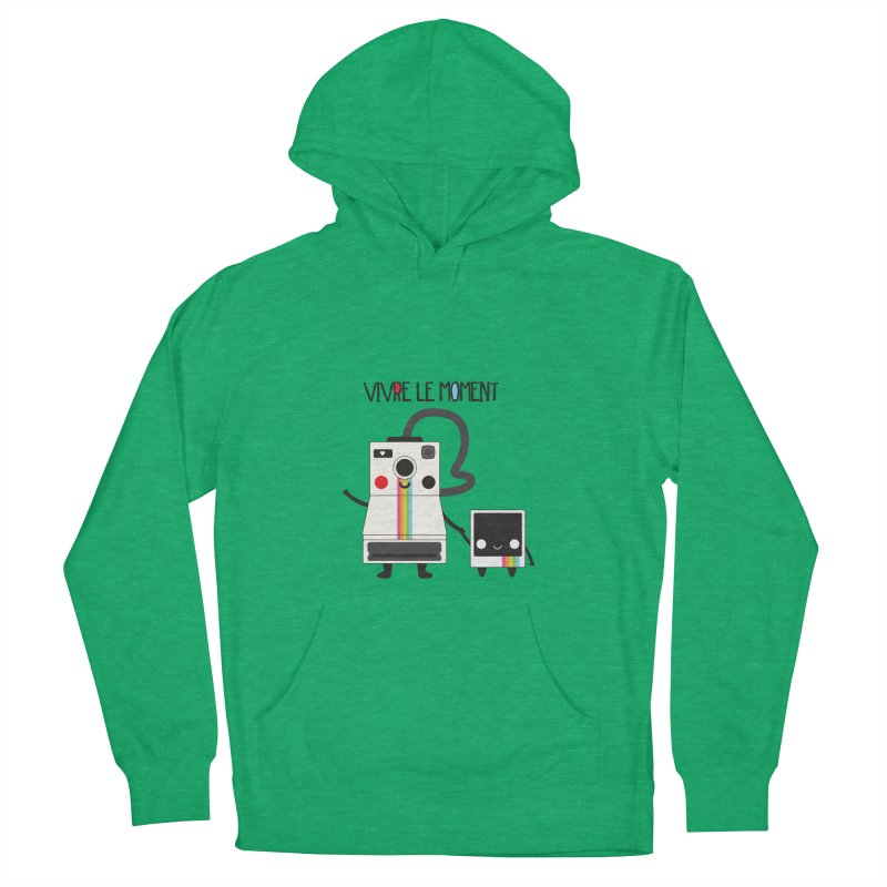 Vivre Le Moment Women's Pullover Hoody by strawberrystyle's Artist Shop