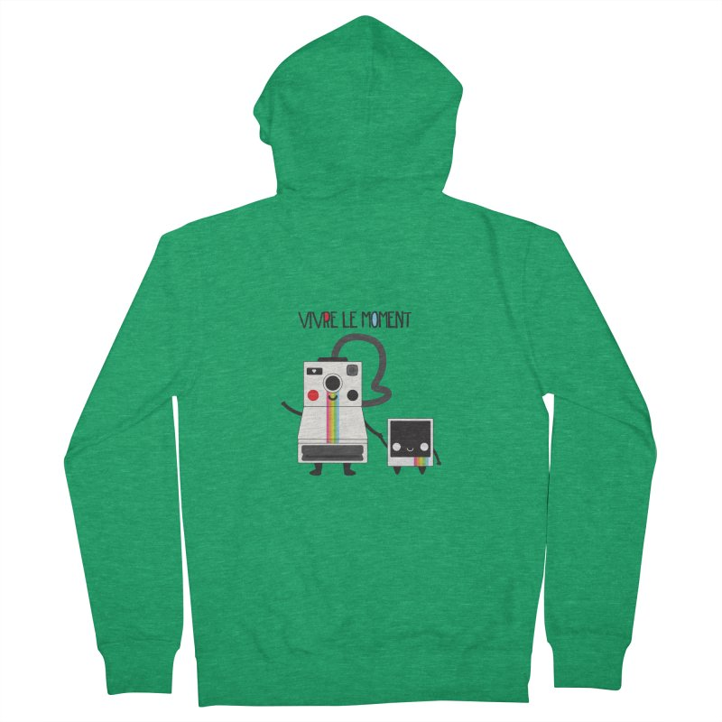 Vivre Le Moment Women's Zip-Up Hoody by strawberrystyle's Artist Shop