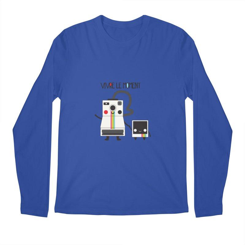 Vivre Le Moment Men's Longsleeve T-Shirt by strawberrystyle's Artist Shop