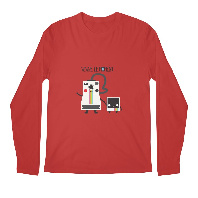 Vivre Le Moment Men's Longsleeve T-Shirt by strawberrystyle's Artist Shop