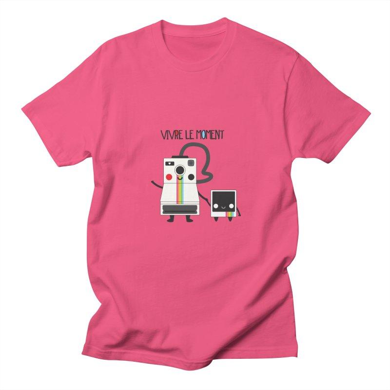 Vivre Le Moment Men's T-shirt by strawberrystyle's Artist Shop