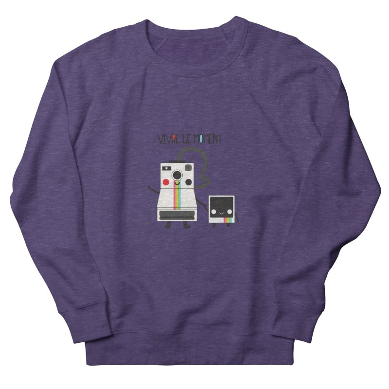 Vivre Le Moment Men's Sweatshirt by strawberrystyle's Artist Shop
