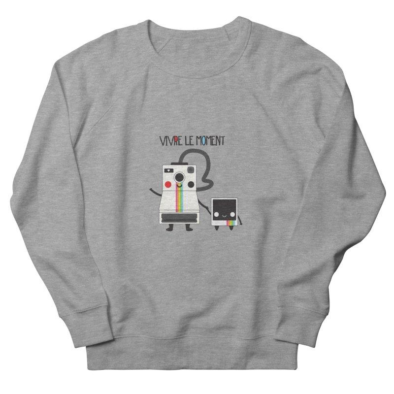 Vivre Le Moment Men's Sweatshirt by strawberrystyle's Artist Shop