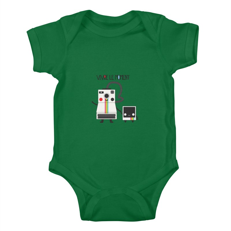 Vivre Le Moment Kids Baby Bodysuit by strawberrystyle's Artist Shop