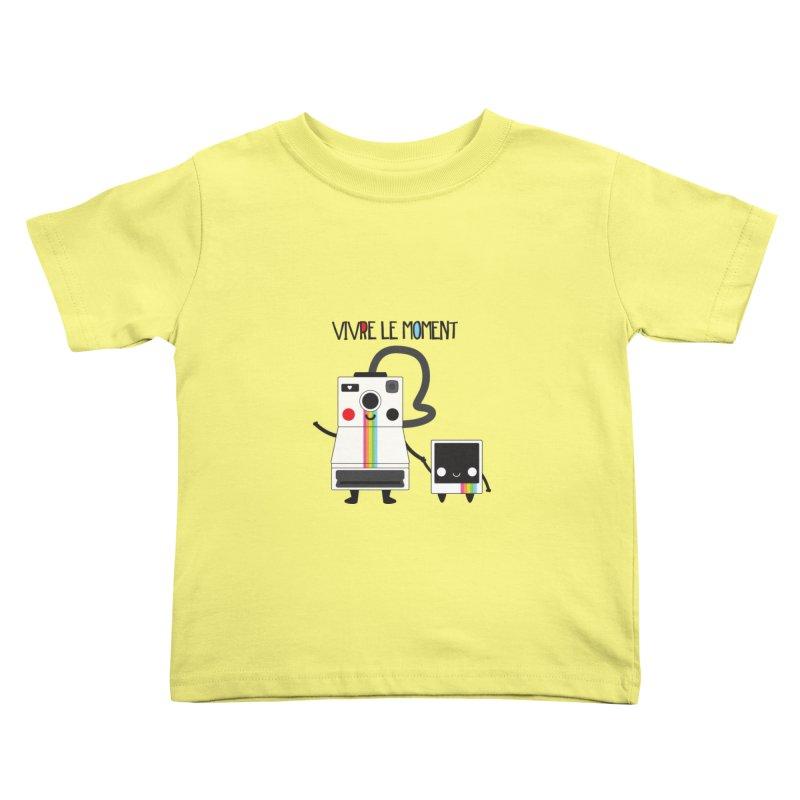 Vivre Le Moment Kids Toddler T-Shirt by strawberrystyle's Artist Shop