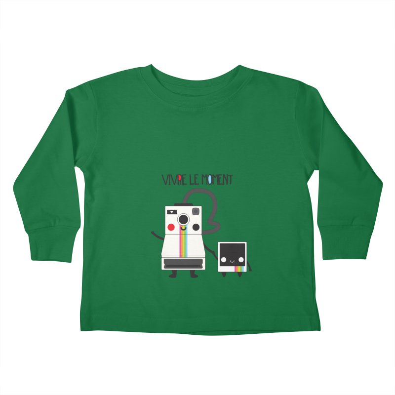 Vivre Le Moment Kids Toddler Longsleeve T-Shirt by strawberrystyle's Artist Shop