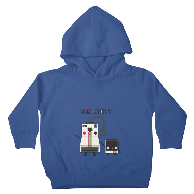 Vivre Le Moment Kids Toddler Pullover Hoody by strawberrystyle's Artist Shop
