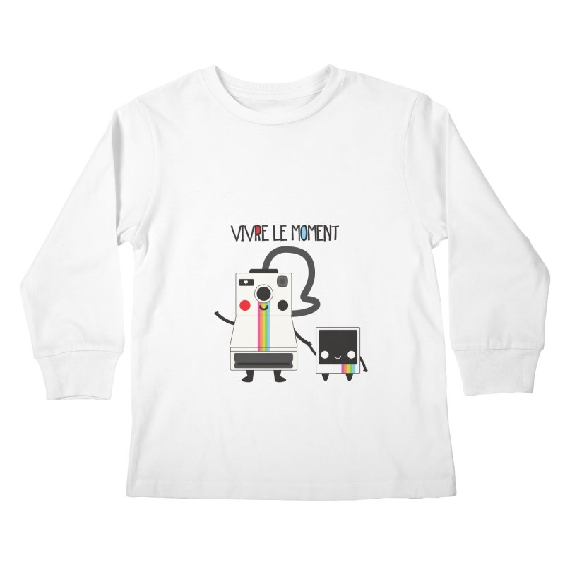 Vivre Le Moment Kids Longsleeve T-Shirt by strawberrystyle's Artist Shop
