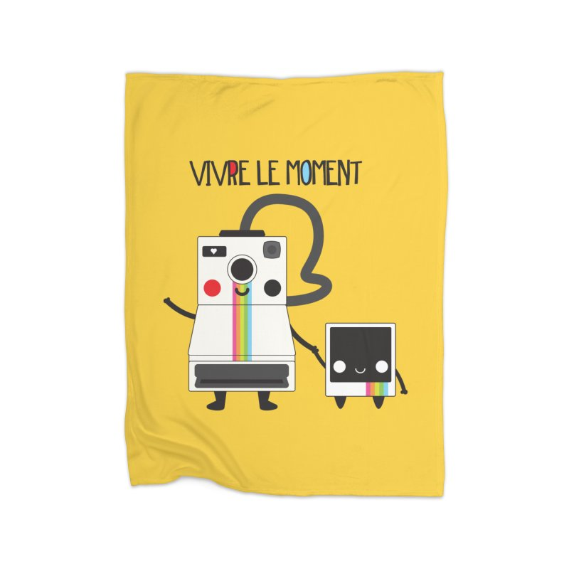 Vivre Le Moment Home Blanket by strawberrystyle's Artist Shop