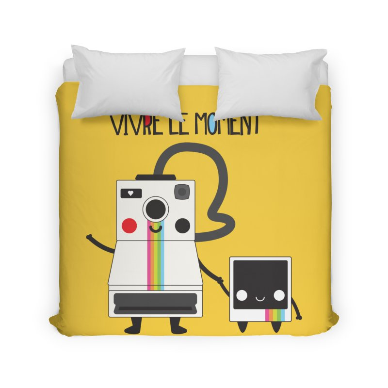 Vivre Le Moment Home Duvet by strawberrystyle's Artist Shop