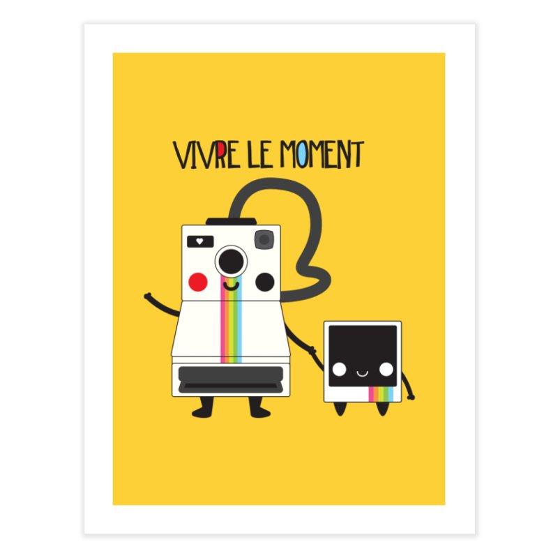 Vivre Le Moment Home Fine Art Print by strawberrystyle's Artist Shop