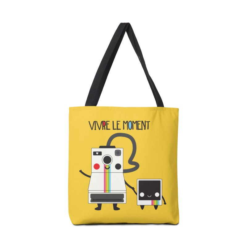 Vivre Le Moment Accessories Bag by strawberrystyle's Artist Shop