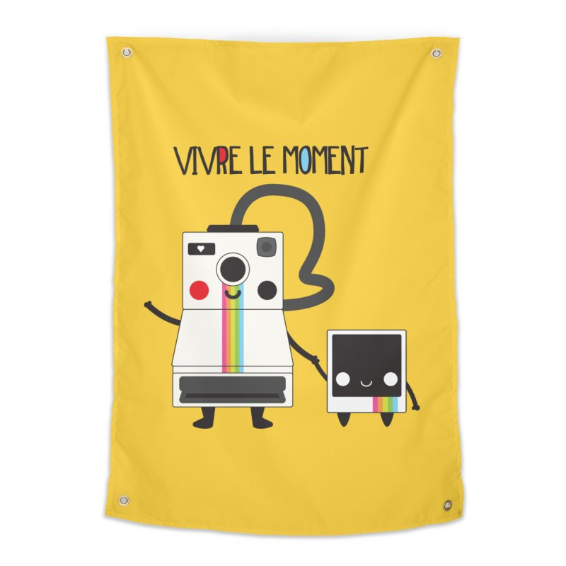 Vivre Le Moment Home Tapestry by strawberrystyle's Artist Shop