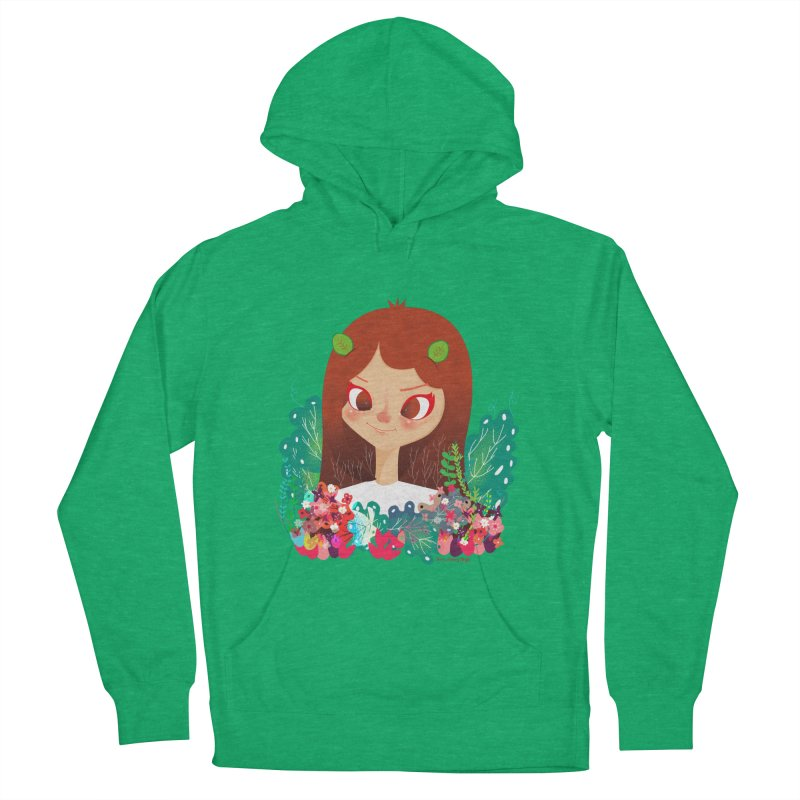 Floral Women's Pullover Hoody by strawberrystyle's Artist Shop