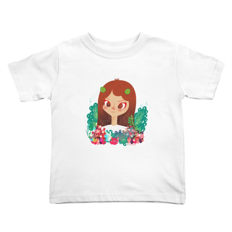 Floral Kids Toddler T-Shirt by strawberrystyle's Artist Shop