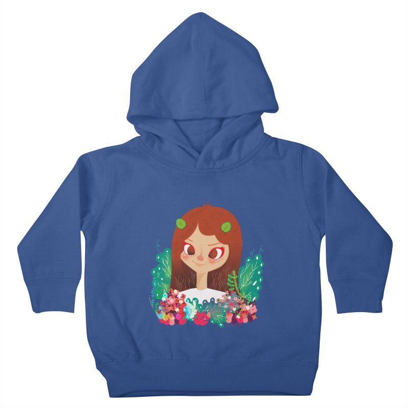Floral Kids Toddler Pullover Hoody by strawberrystyle's Artist Shop