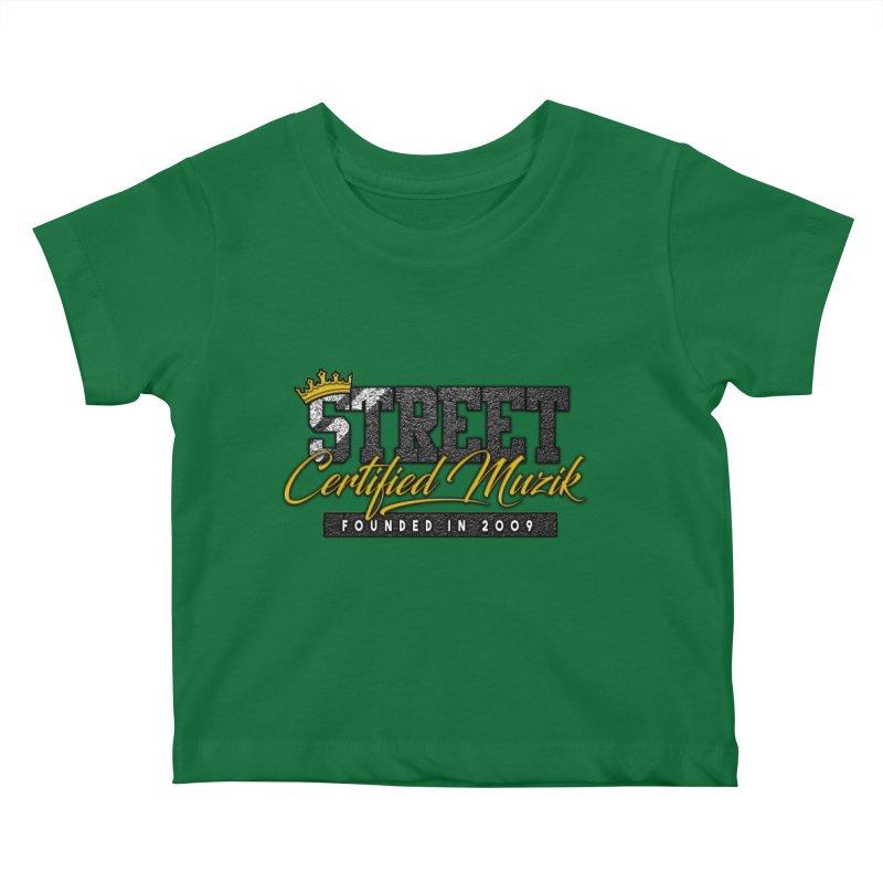 Street Certified Muzik Kids Baby T-Shirt by Street Certified Muzik