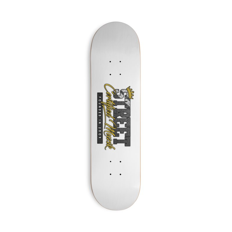 Street Certified Muzik Accessories Skateboard by Street Certified Muzik