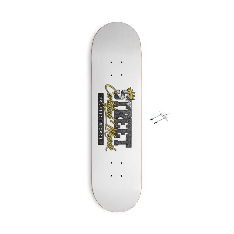 Street Certified Muzik Accessories Skateboard by Street Certified Muzik